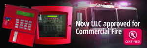 Now ULC approved for Commercial Fire